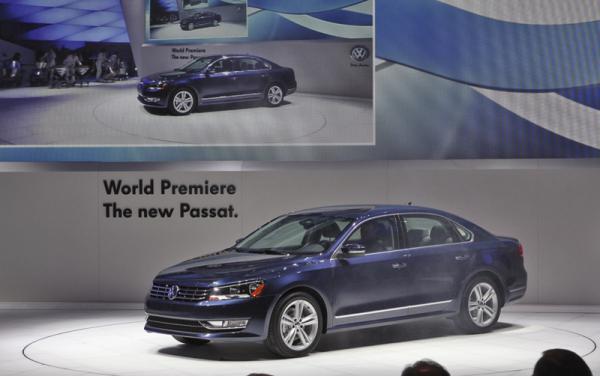 Детройтский автосалон - 2011: Volkswagen Passat