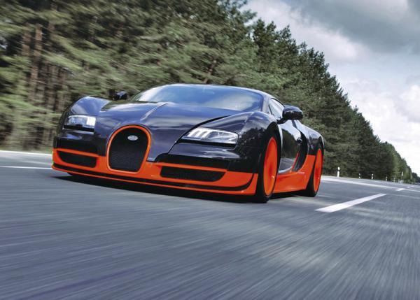 Новому Bugatti Veyron дали зеленый свет