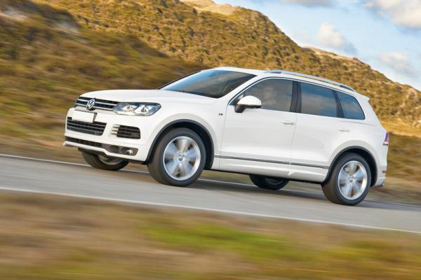Volkswagen Touareg получил новый спортивный пакет