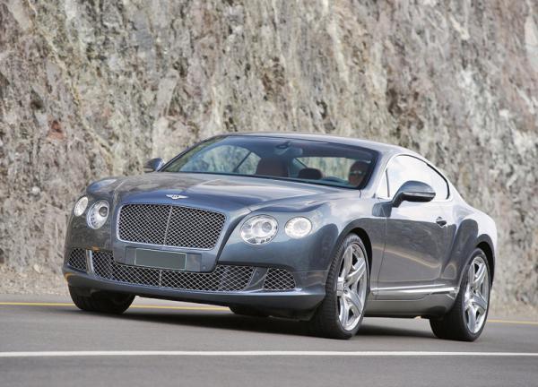 Bentley Continental GT оснастят экономичным двигателем
