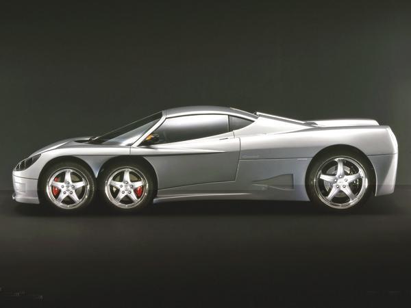 Шестиколесный автомобиль идет в производство