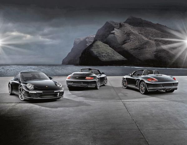 Porsche Boxster S Black Edition