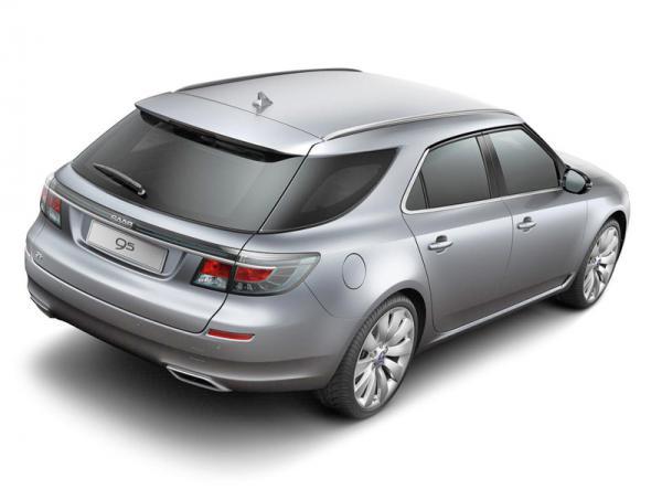 Универсал Saab 9-5 покажут в Женеве