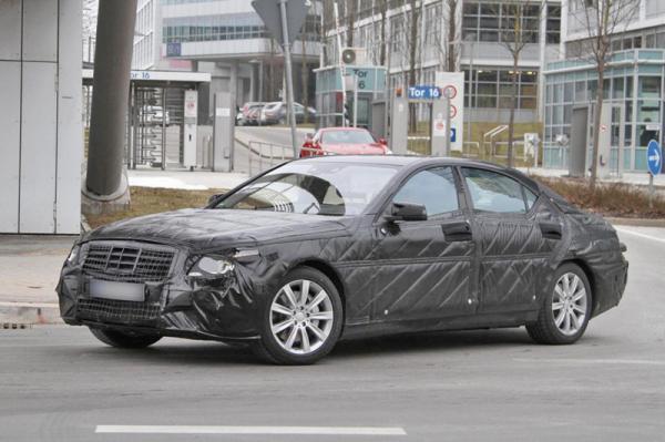 Mercedes-Benz S-Class замечен на испытаниях