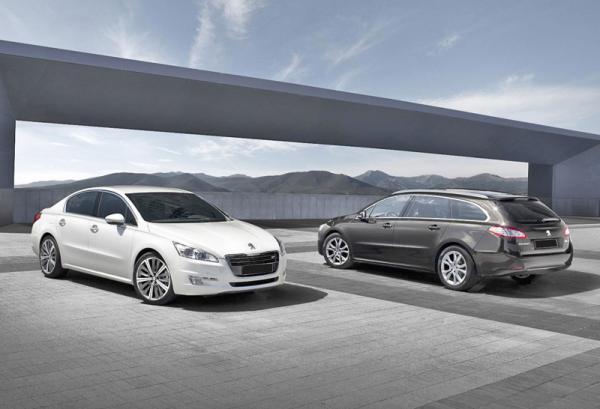 Обновленный седан Peugeot 508 появится на украинском рынке в сентябре этого года