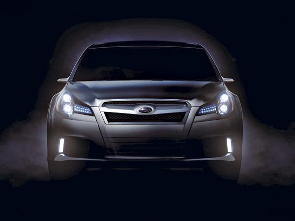 Subaru готовит новый Legacy