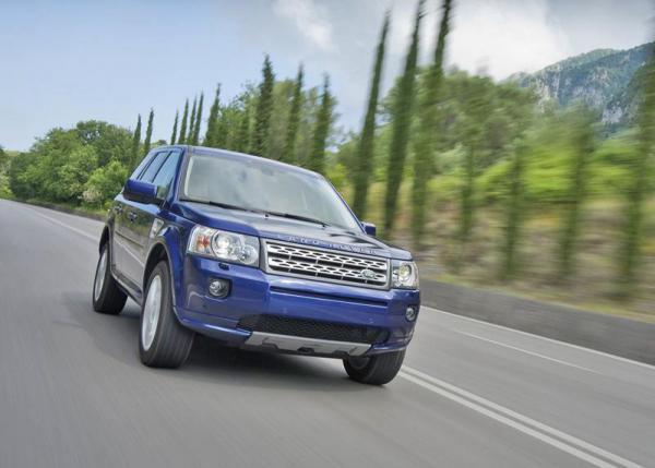 Land Rover Freelander: легкое обновление