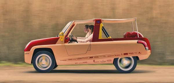Rinspeed покажет пляжный автомобиль BamBoo