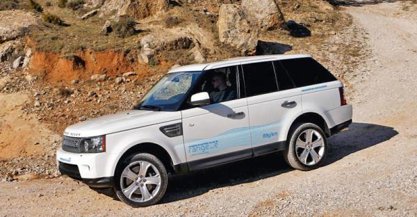 Land Rover в Женеве представит гибридный Range Rover