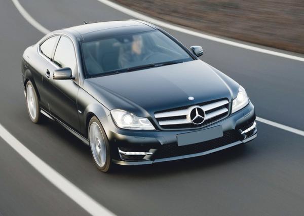 Mercedes-Benz C-Class Coupe: наследник CLK