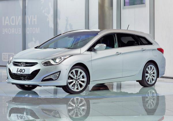 Hyundai показал фото универсала i40