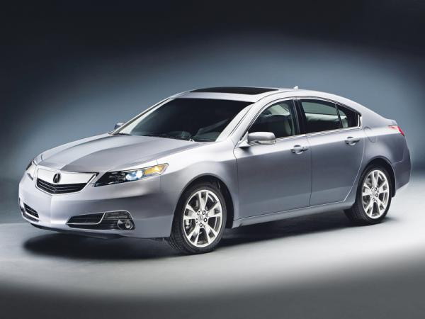 Acura TL: освежение