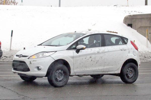 Ford готовит вседорожный Fiesta
