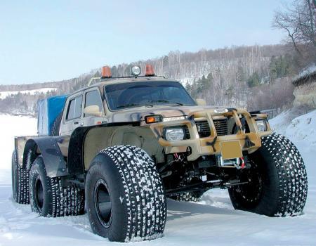 Monster Truck: стремление парить над землей