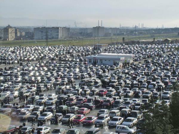 В США продажи автомобилей увеличились на 27 процентов