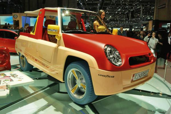 Женевский автосалон – 2011: Rinspeed