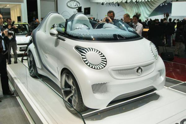 Женевский автосалон – 2011: Smart