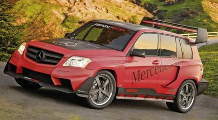 Две ипостаси Mercedes-Benz GLK