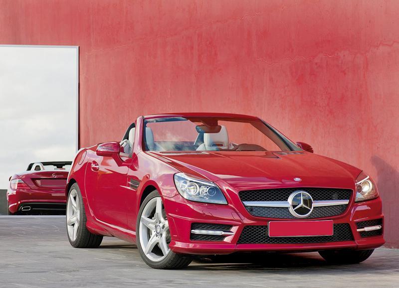 Mercedes-Benz SLK: кабриолет для любой поры года