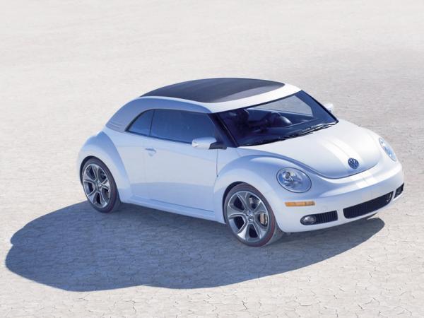 Презентация Volkswagen New Beetle состоится в Шанхае