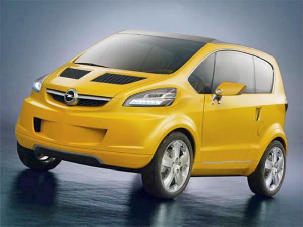 Opel в 2012 году выпустит новую малолитражку Mokka