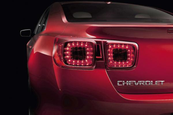 Chevrolet Malibu покажут на автосалоне в Шанхае