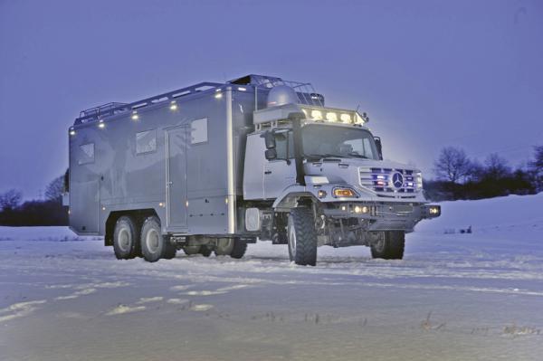 Mercedes-Benz Zetros в исполнении для экспедиций