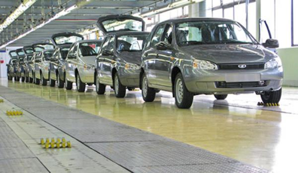 АвтоВАЗа увеличил продажи автомобилей на 46 процентов