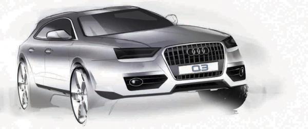 Концептуальный Audi Q3 покажут в Шанхае