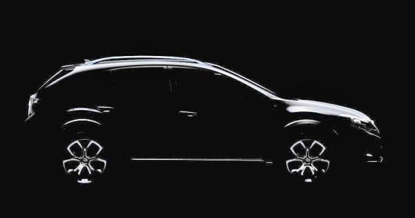 Первое изображение нового Subaru Impreza XV