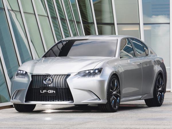 Lexus LF-Gh: предшественник нового седана GS