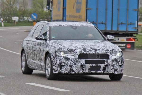 Audi A6 Avant проходит последние испытания