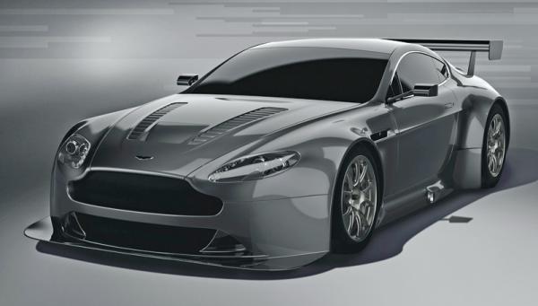 Aston Martin Vantage GT3 - автомобиль для гонок