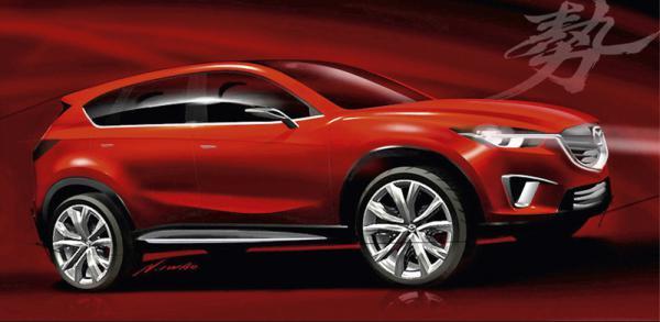 Mazda назовет свой серийный кроссовер CX-5