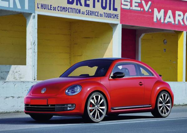 Volkswagen Beetle: третье поколение