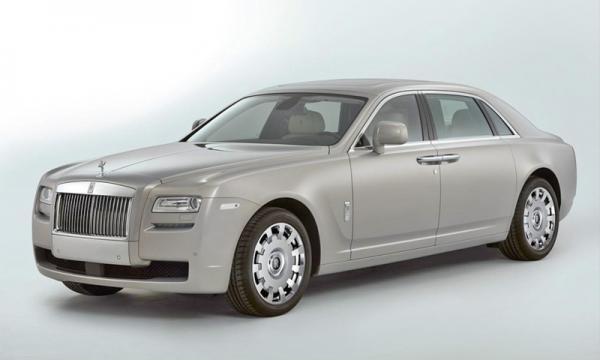 Rolls-Royce показал удлиненную версию Ghost