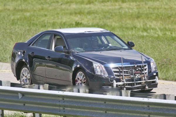 Cadillac представит седан ATS