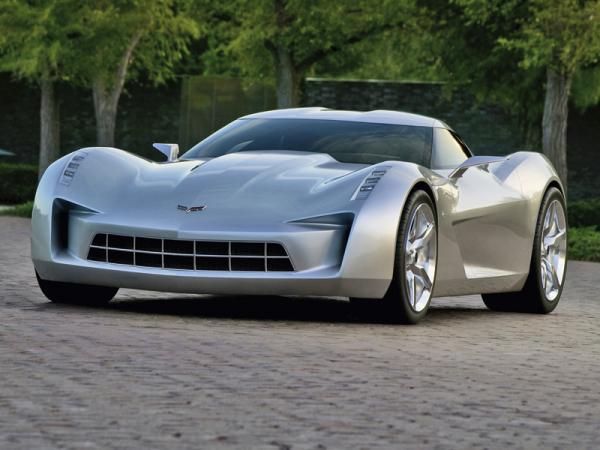 Новый Chevrolet Corvette покажут в 2012 году