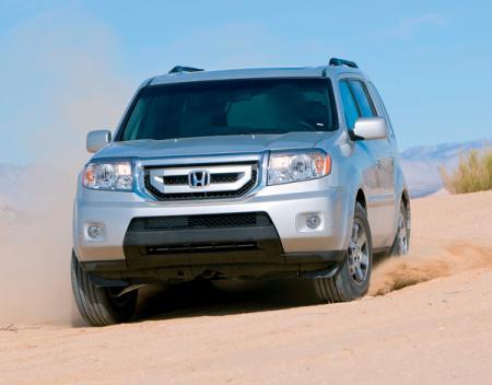 Honda Pilot: второе поколение