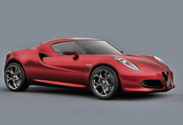 Alfa Romeo 4C появится в 2013 году
