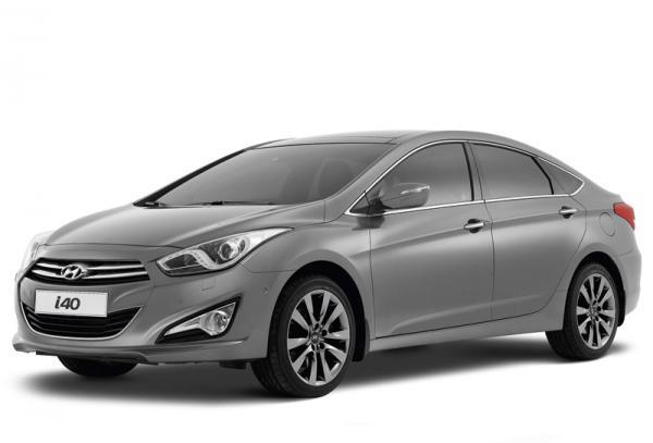 Hyundai i40: седан показали в Барселоне
