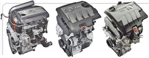 Volkswagen показал новые двигатели