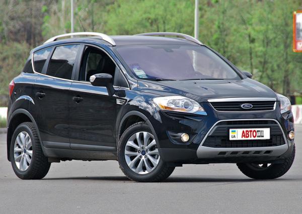 "Ford Kuga 2,5 Titanium Turbo: ""горожанин"" с характером"