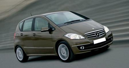 Mercedes-Benz A-class: модернизация