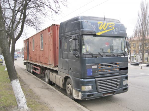 Грузовой транспорт не пустят в Киев
