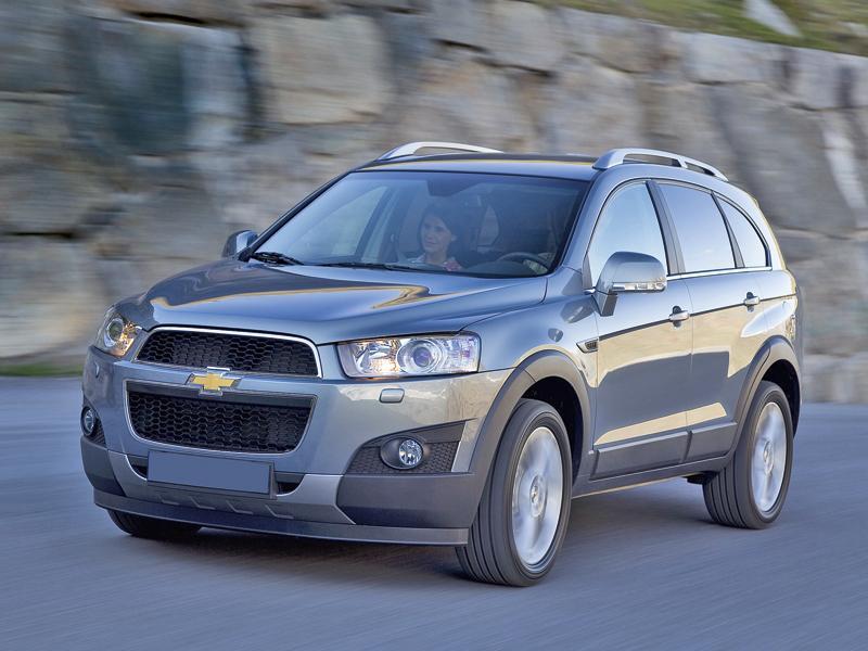 Chevrolet Captiva: плановое обновление