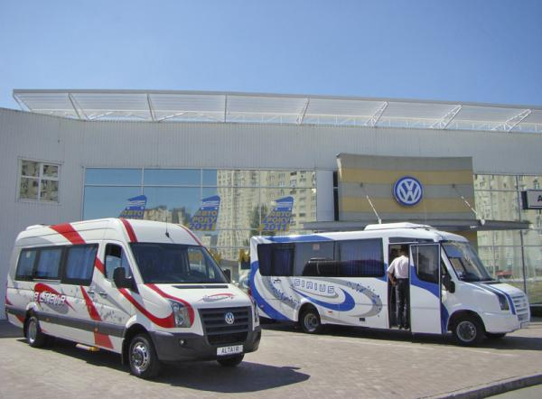 В Украине начато производство микроавтобусов Volkswagen
