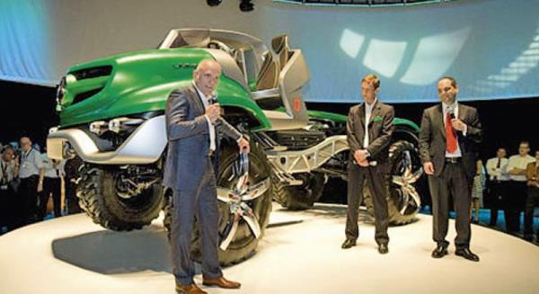 Вздеход-кабриолет от Mercedes-Benz