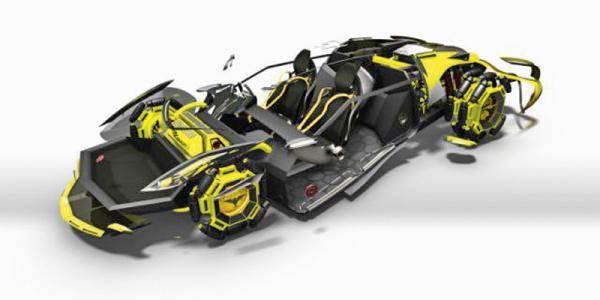 Bizzarrini Veleno – автомобиль будущего