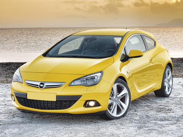 Opel Astra GTC: в спортивном стиле